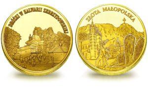 Medal pamiątkowy z Limitowanej Kolekcji Złotej Polski: Dróżki w Kalwarii Zebrzydowskiej SPL_025