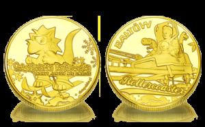Medal pamiątkowy Szwajcaria Bałtowska 186
