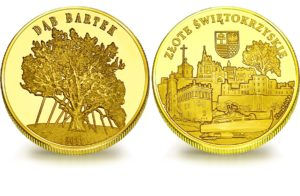 Medal pamiątkowy z Limitowanej Kolekcji Złotej Polski: Dąb Bartek SPL_026