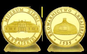 Medal pamiątkowy Muzeum Ziemi Leżajskiej 110