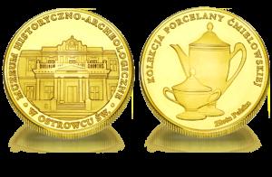 Medal pamiątkowy Muzeum Historyczno-Arch. w Ostrowcu Św. 102