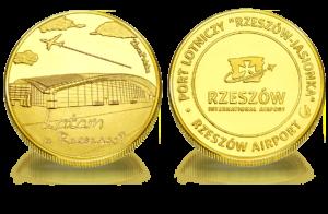 Medal pamiątkowy Lotnisko Rzeszów 275
